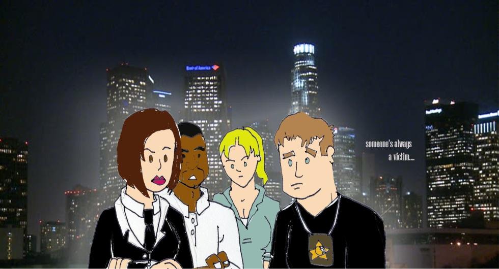 crime drama, parody, short stories, law and order, csi, victim squad